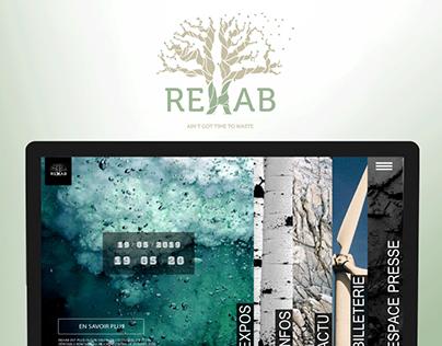 Rehab   Event branding