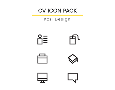 CV Icon Pack