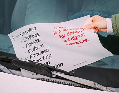 KOBU™ Text - Custom font