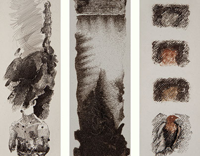 Fragmentos de un manual de dibujo con pelo