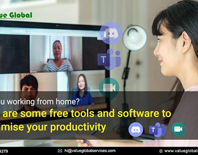WFH Tools & Software to Maximize Productivity
