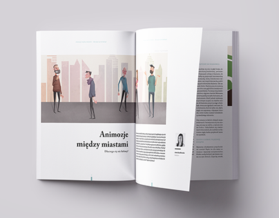Article design for DuoLife Magazine