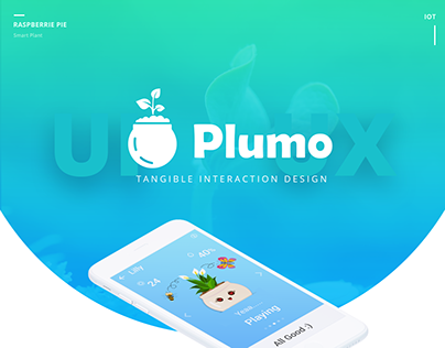 Plumo: A smart plant Tangible Interaction Design