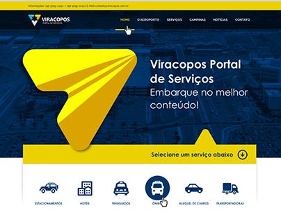 Website Viracopos