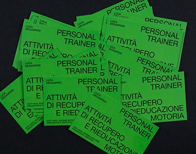 Business Cards Luca Degasperi