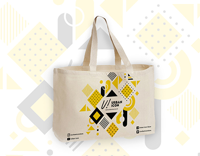 Urban Icon Eco-Bag (Packaging Design)