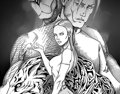 V-gang Comic Book