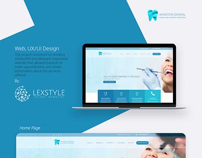 Dentist Web & UI/UX Design