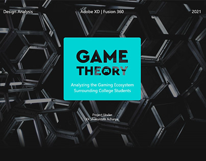 Game Theory : Analyzing the Gaming Ecosystem