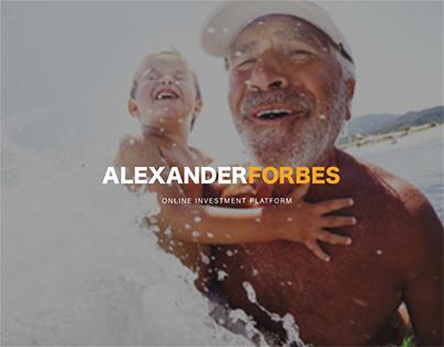 Alexander Forbes UX Design Project