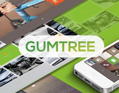 Metro  Redesign  of Gumtree