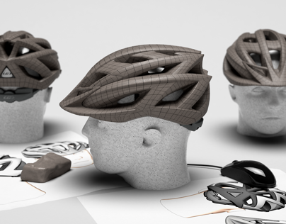 Design casque et visière / Helmet & eyeshade design