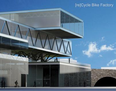 [re]Cycle Bike Factory, Design VI, Prof. Dunham
