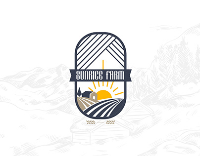 SUNRICE FARM-Brand Identity Design