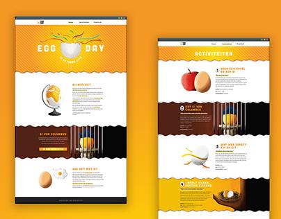 Webdesign - Egg Day (not responsive)