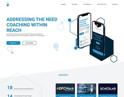 Sociov Website | UI/UX Design Concept