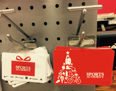 Sports Authority Holiday Gift Cards