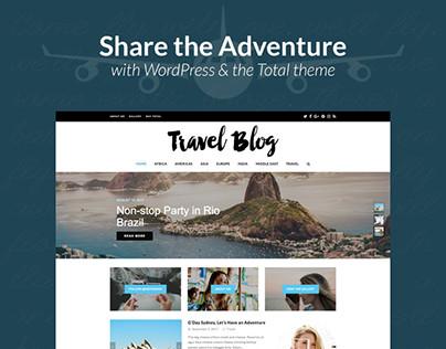 Adventure & Travel Blog Website Design