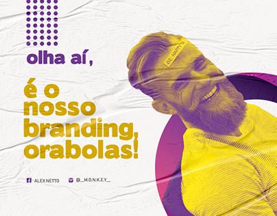 É branding, Orabolas!