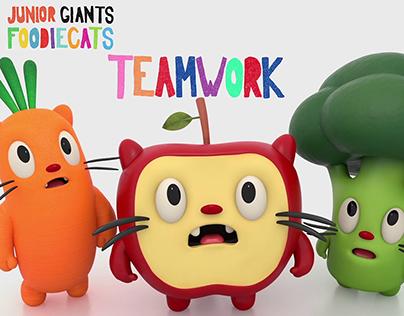 Foodiecats Season 1 - Teamwork