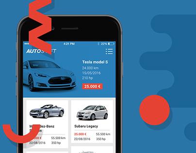 Autoshift - car market app