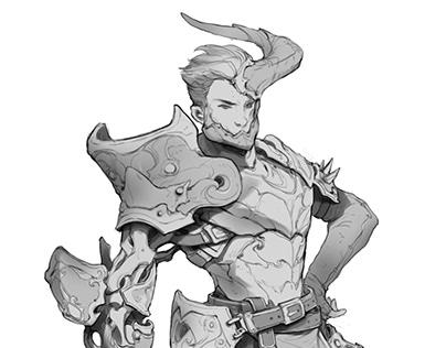 Ashen | Mechanic Knight