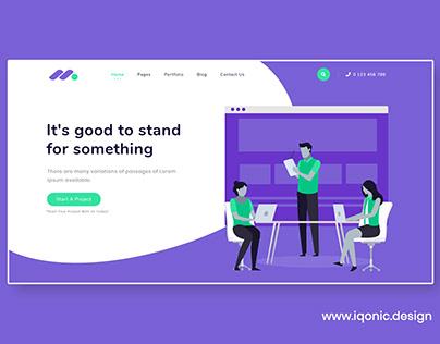 Markethon - A Digital Marketing Agency Website Theme