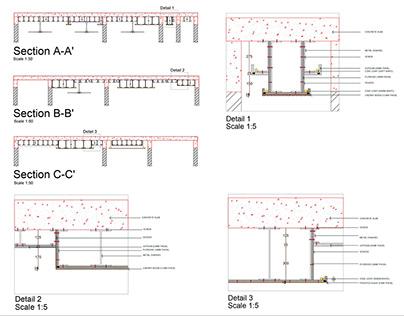 Technical Details -False ceiling (Residence)