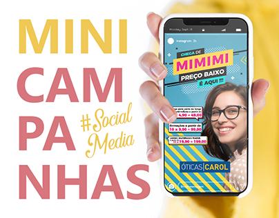 Mini Campanha - Social Media 2019