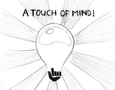A touch of mind iPad concept app made in 2010