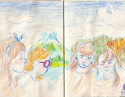 Sketches : Yamanashi