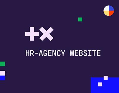 +X agency. Identity & Website