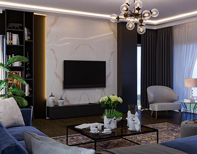 İnterior Living Room Design