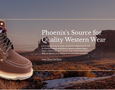 Website Botas Juárez - Phoenix