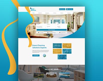 Magic Services - Website Design & Development