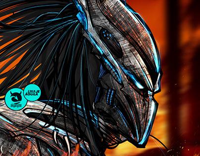 Andres 'Predator' Ibargüen ilustración