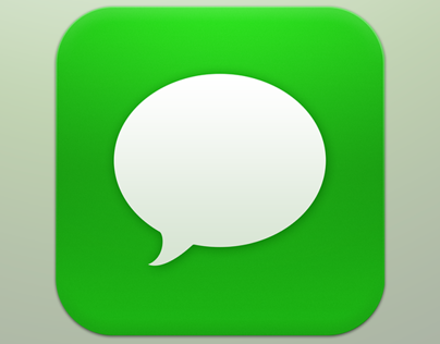 iOS 7 Messages icon