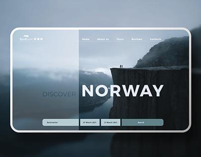 Website For Travel Agency Fjordtours