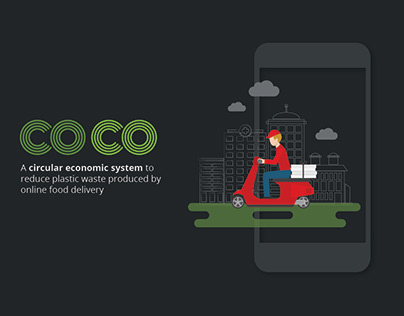 COCO - System design to reduce food delivery plastic