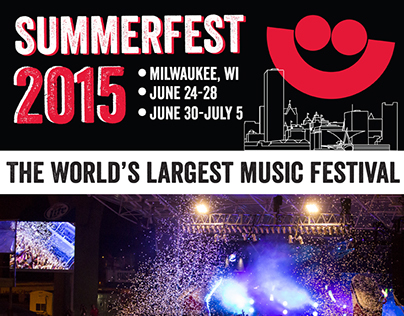 Summerfest 2015 Promotional Ads