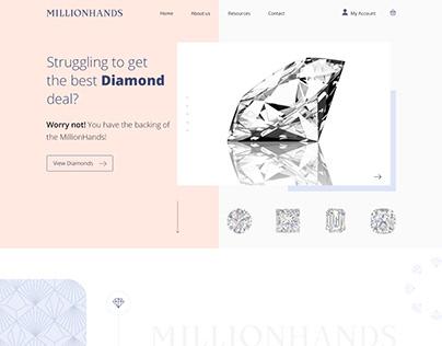 Million Hands - Web Design
