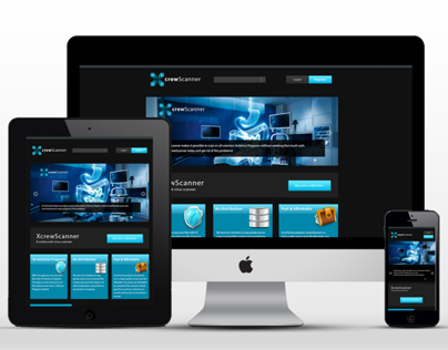 XcrewScanner Webpage