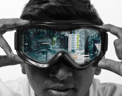 Atlex: Augmented Reality Ski Goggles
