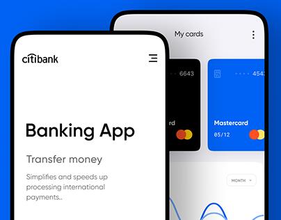 Citybank mobile app redesign
