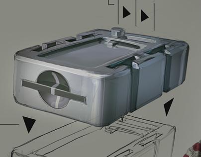 Lab Equipment Storage