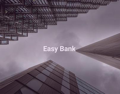Easy Bank — Bank Dashboard