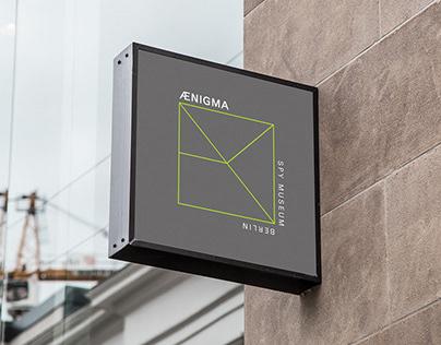 Ænigma   corporate identity