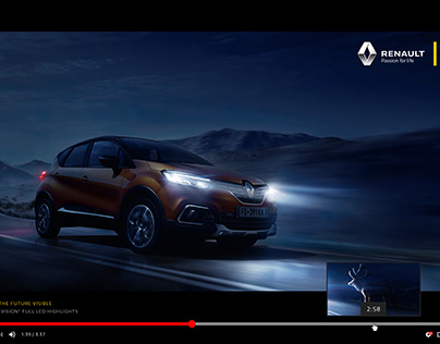 RENAULT - MAKE THE FUTURE VISIBLE / RETOUCH WORK