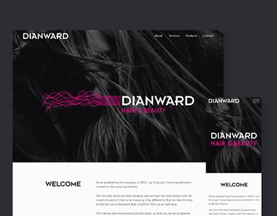 Dian Ward Hair & Beauty - Website
