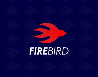 Fire + Bird logo design